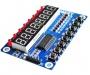 Модуль c индикатором и кнопками на TM1638